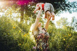 Familienurlaub Familie mit Baby Hotel Parkhotel Ropeter